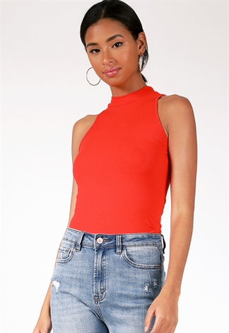 Ribbed Casual Top