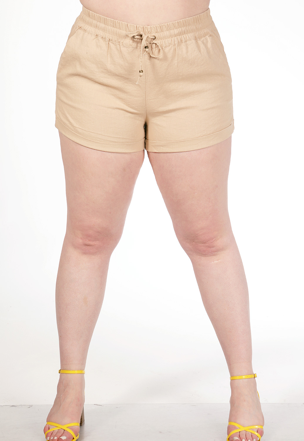 Tie Front Casual Short