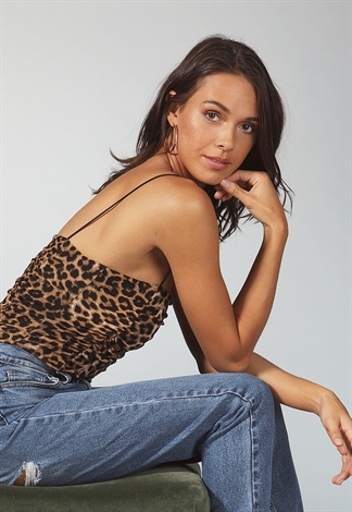 Animal Print Bodysuit