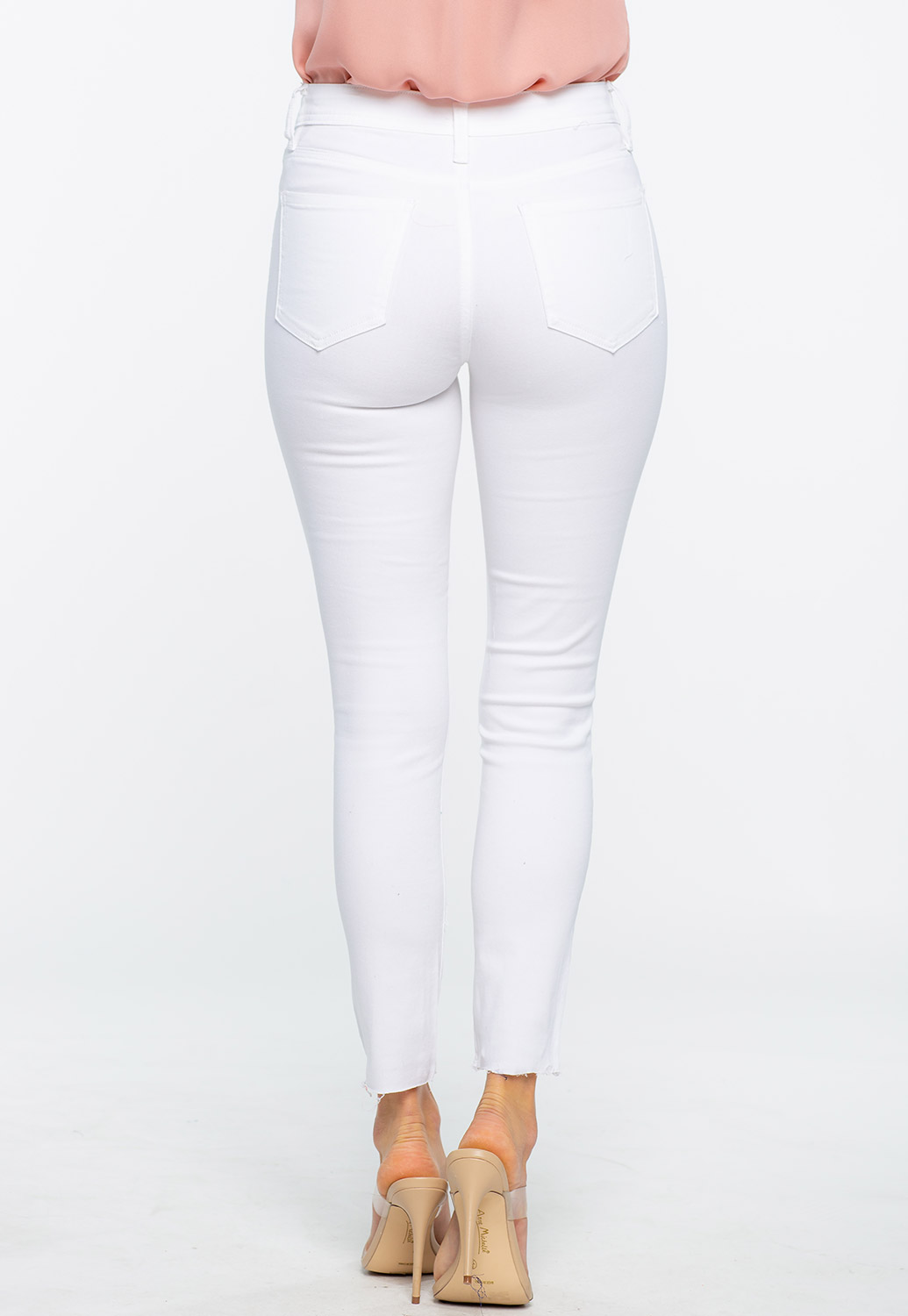 Skinny High Rise Jeans