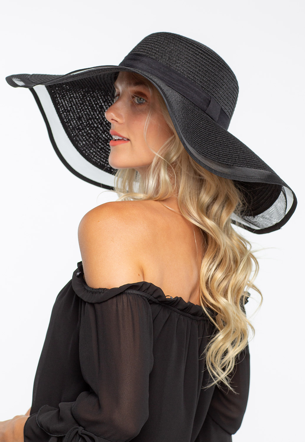 Oversized Floppy Straw Hat
