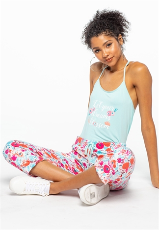 Floral Matching Loungewear Set