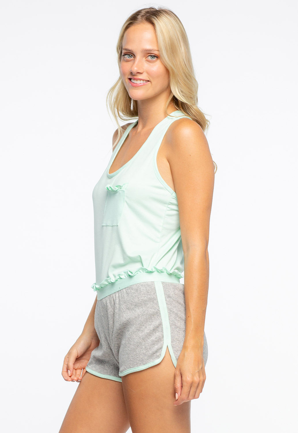 Comfortable Two Pieces Matching Set Loungewear