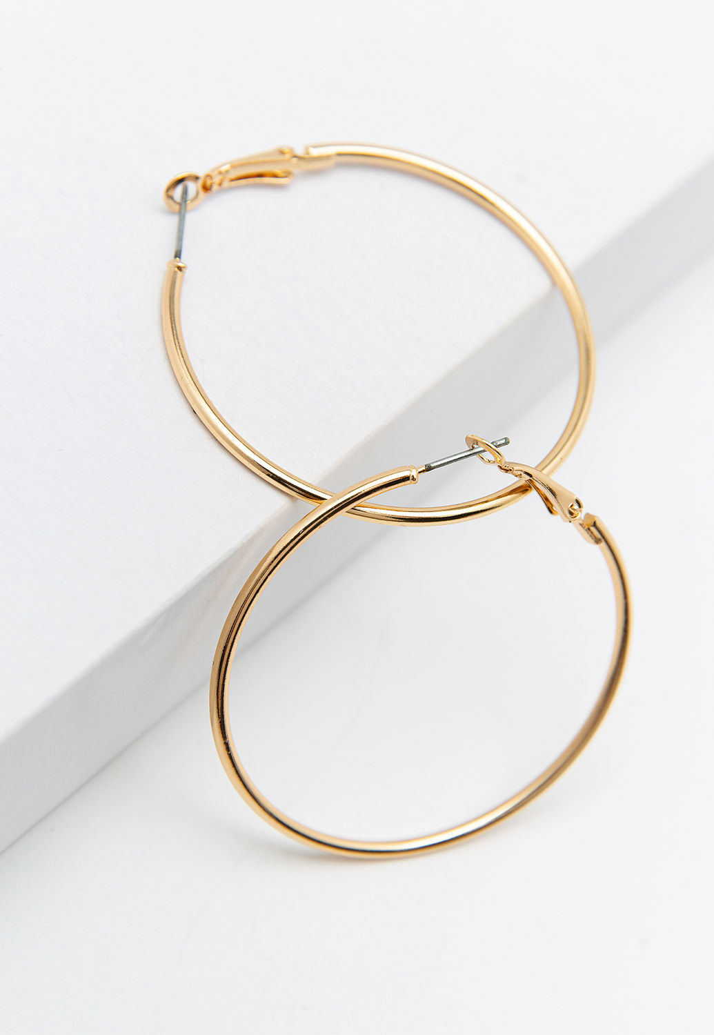 50MM Gold Hoop Earrings