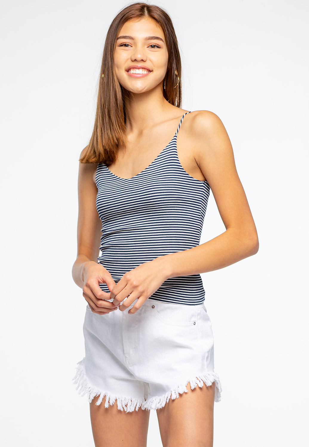 Casual Striped Cami Top