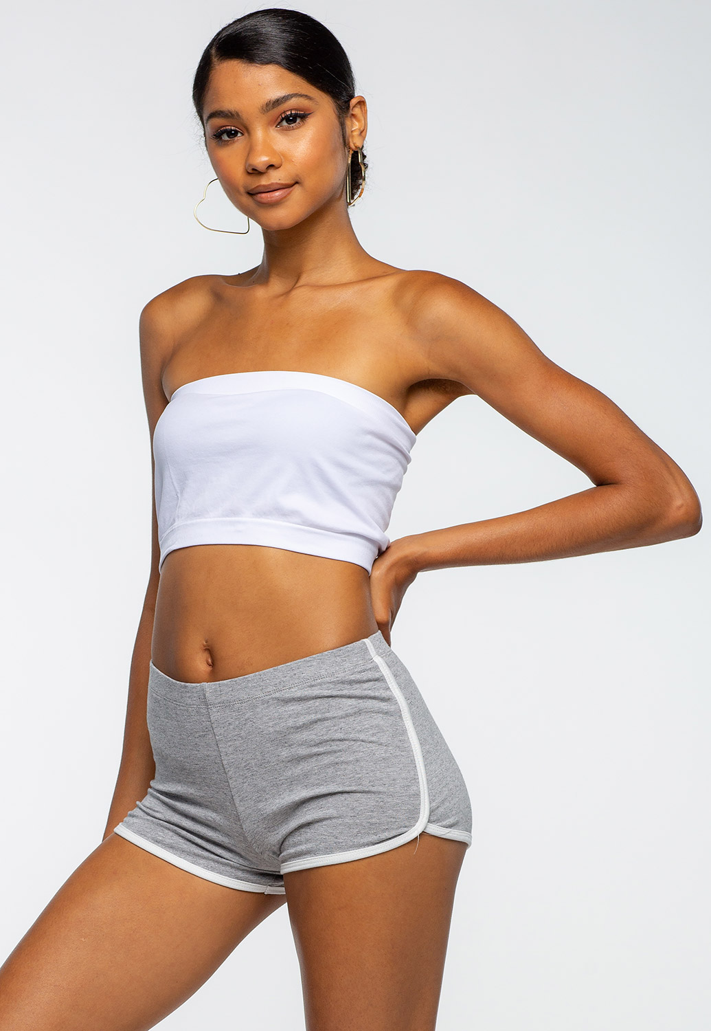Side Striped Comfortable Loungewear Shorts