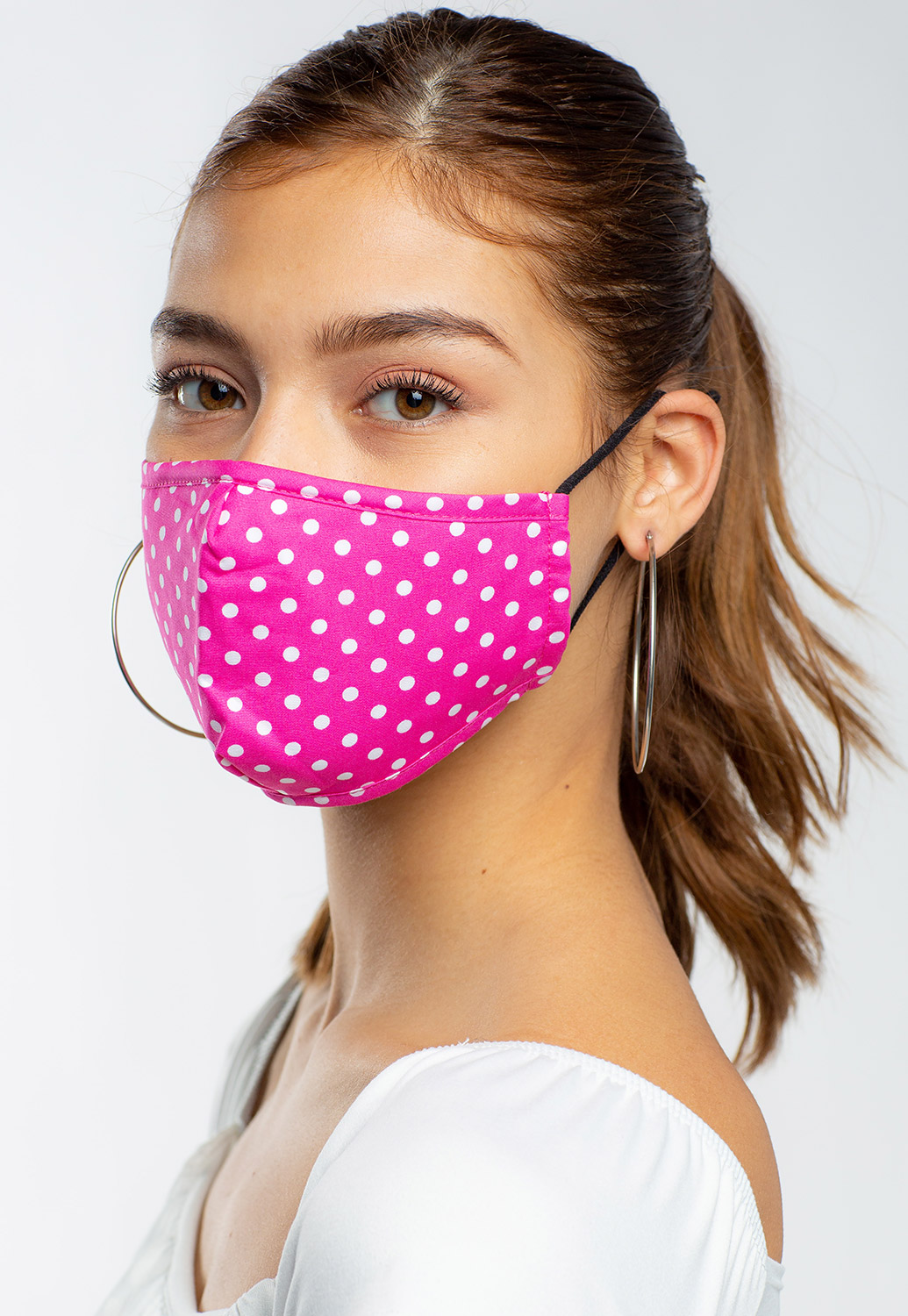 Polka Dot Facial Mask