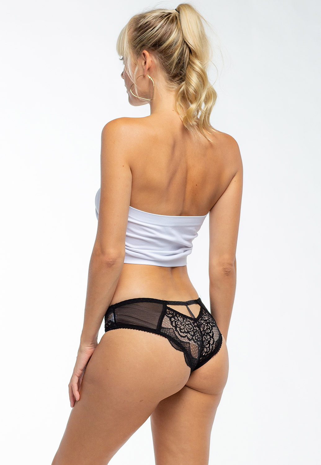 Sexy Floral Layer Laced Panty