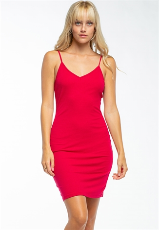 Bodycon Mini Dress With Cross Back Details