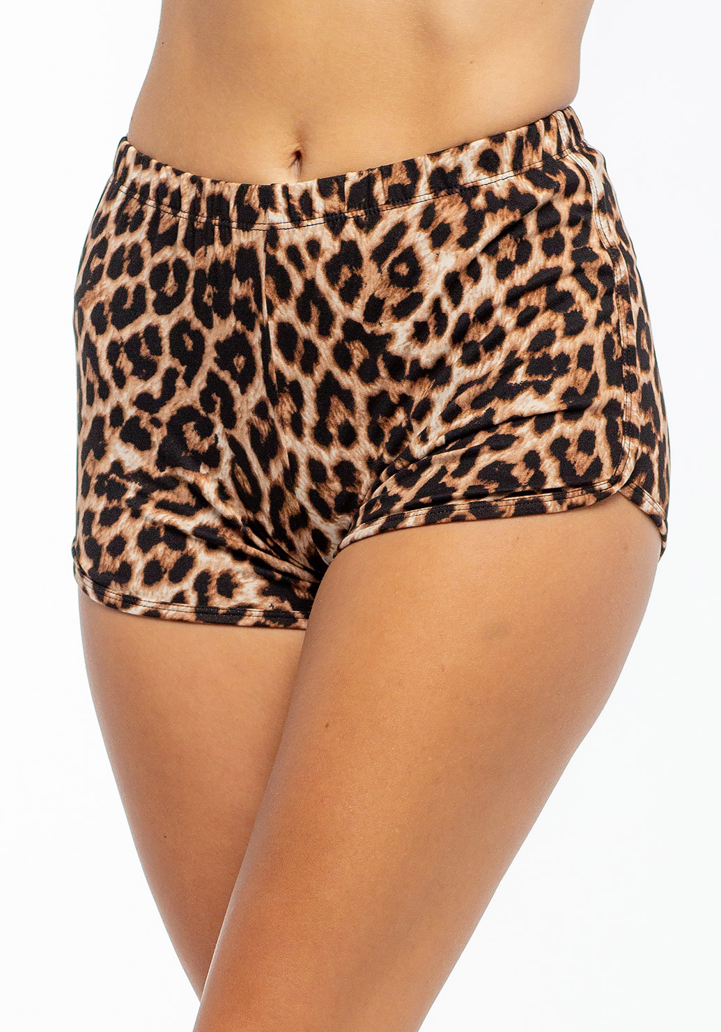 Leopard Printed Comfortable Loungewear Shorts