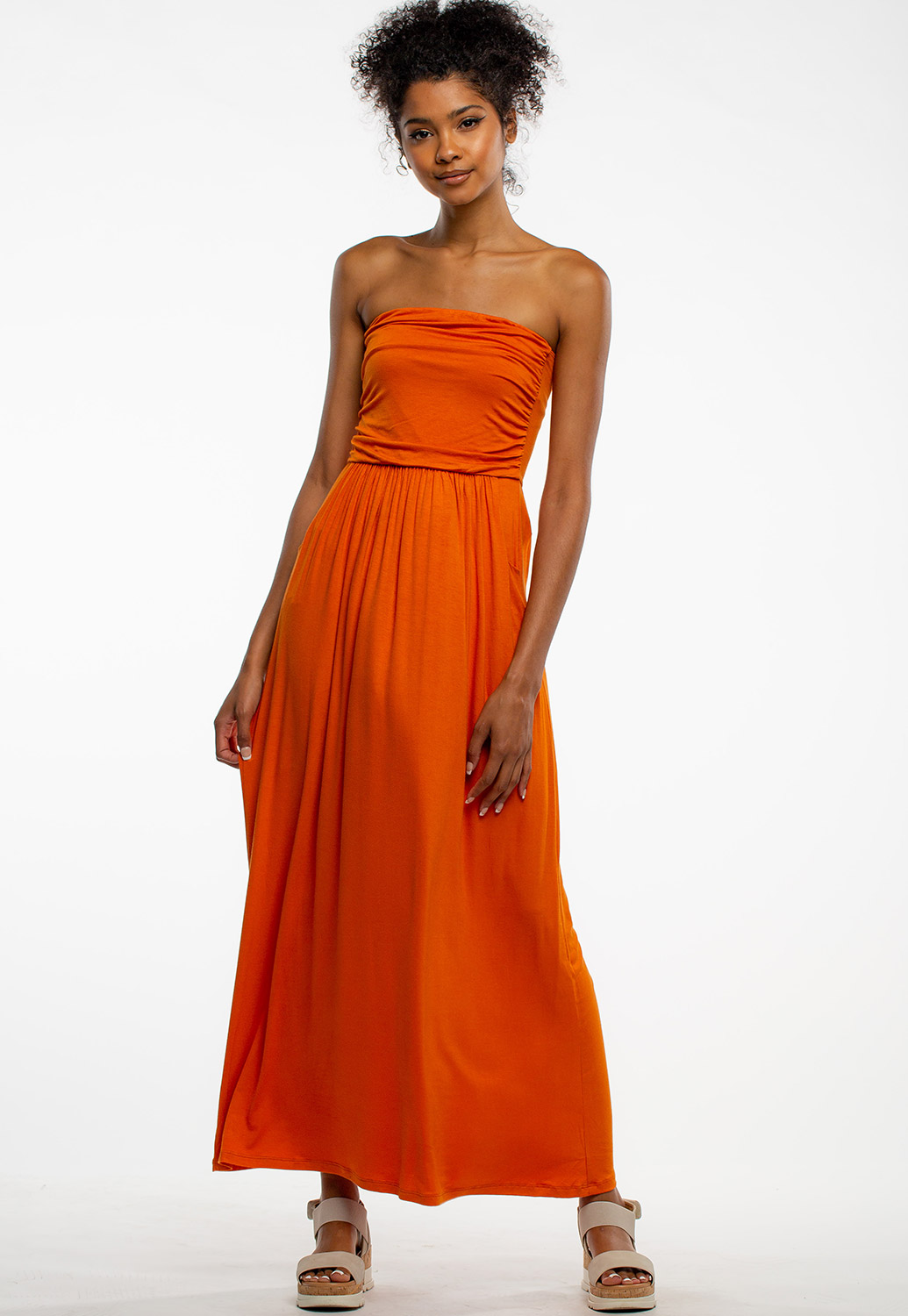 Sleeveless Summer Casual Maxi Dress