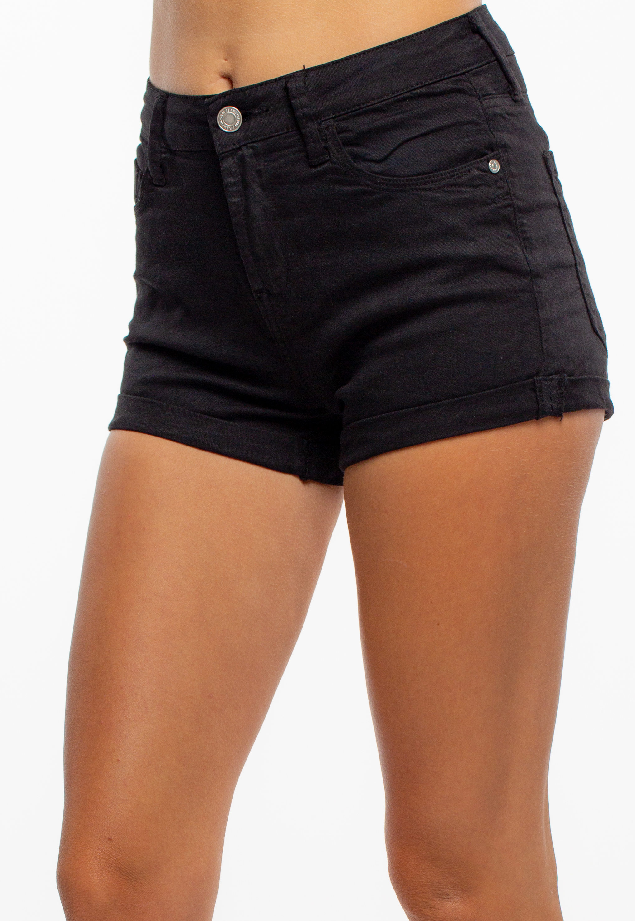 Mid-Rise Color Shorts