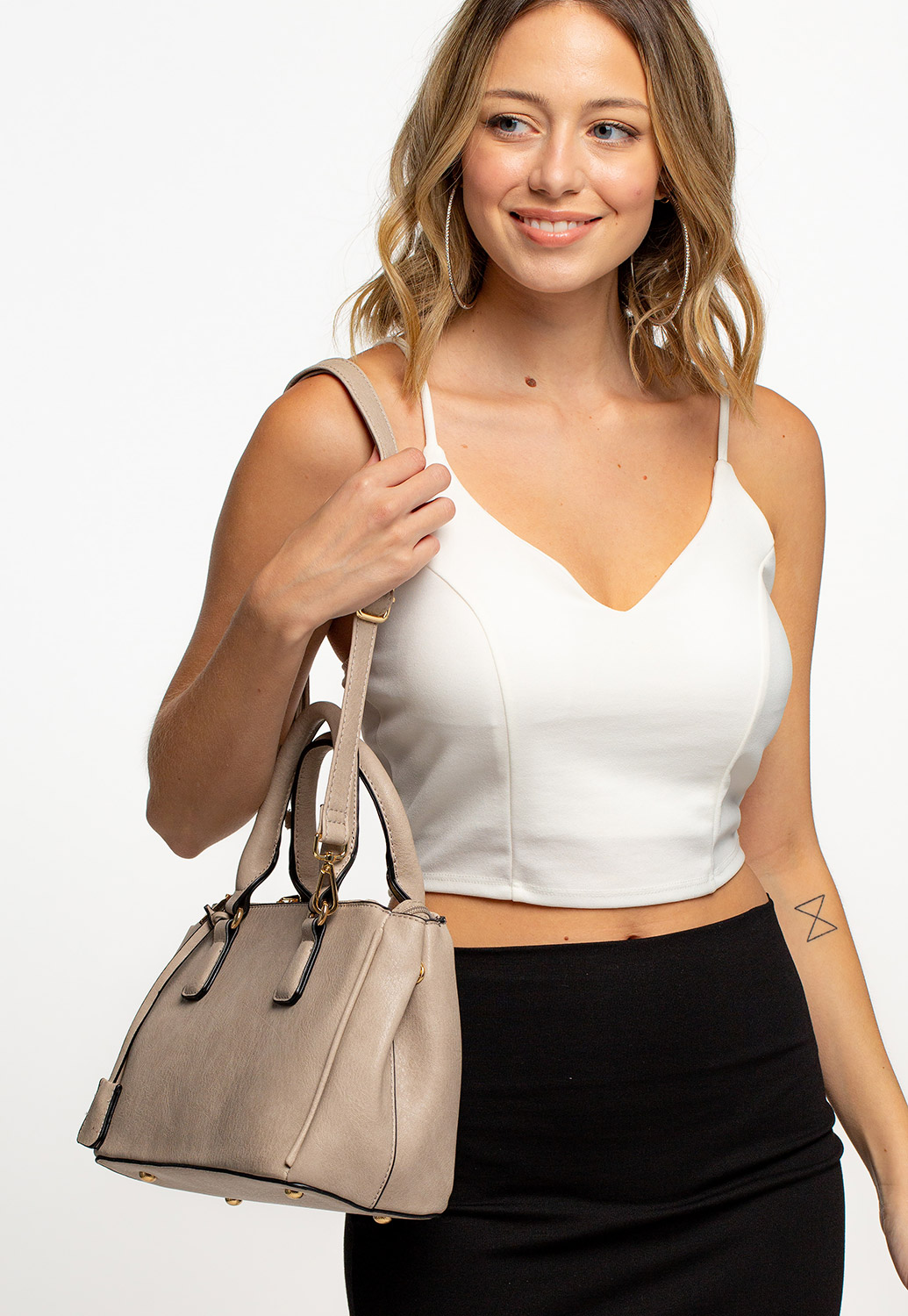 Daily Wearable Simple Crossbody Bag