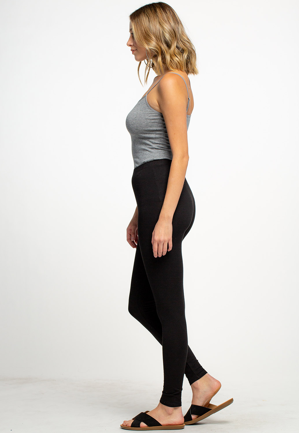 Black Basic Leggings