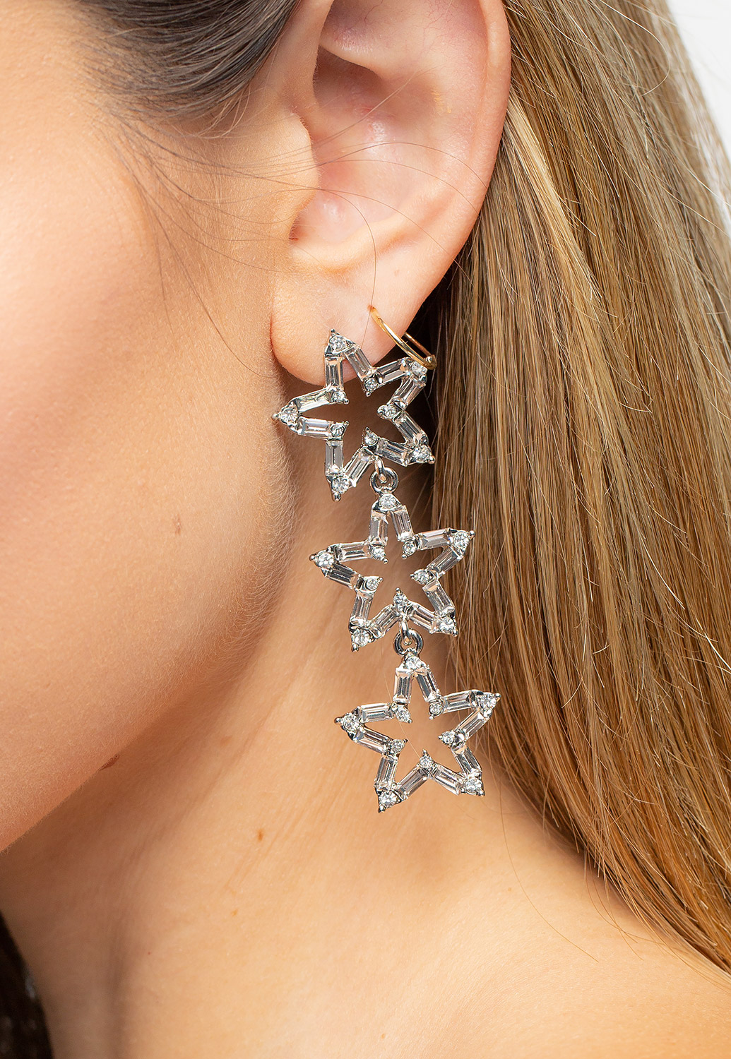 Three Stars Earrings