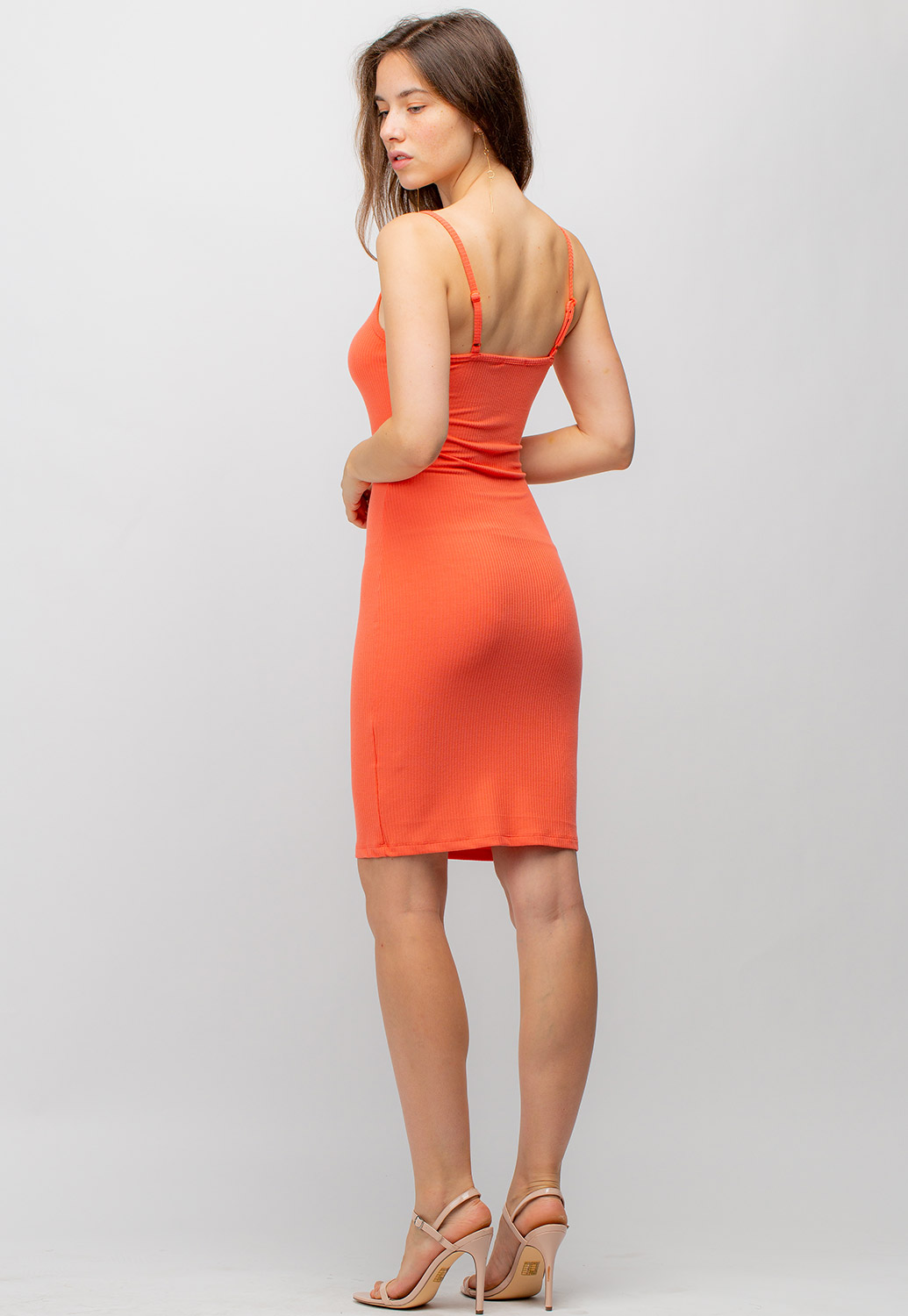 Sleeveless Bodycon Midi Dress