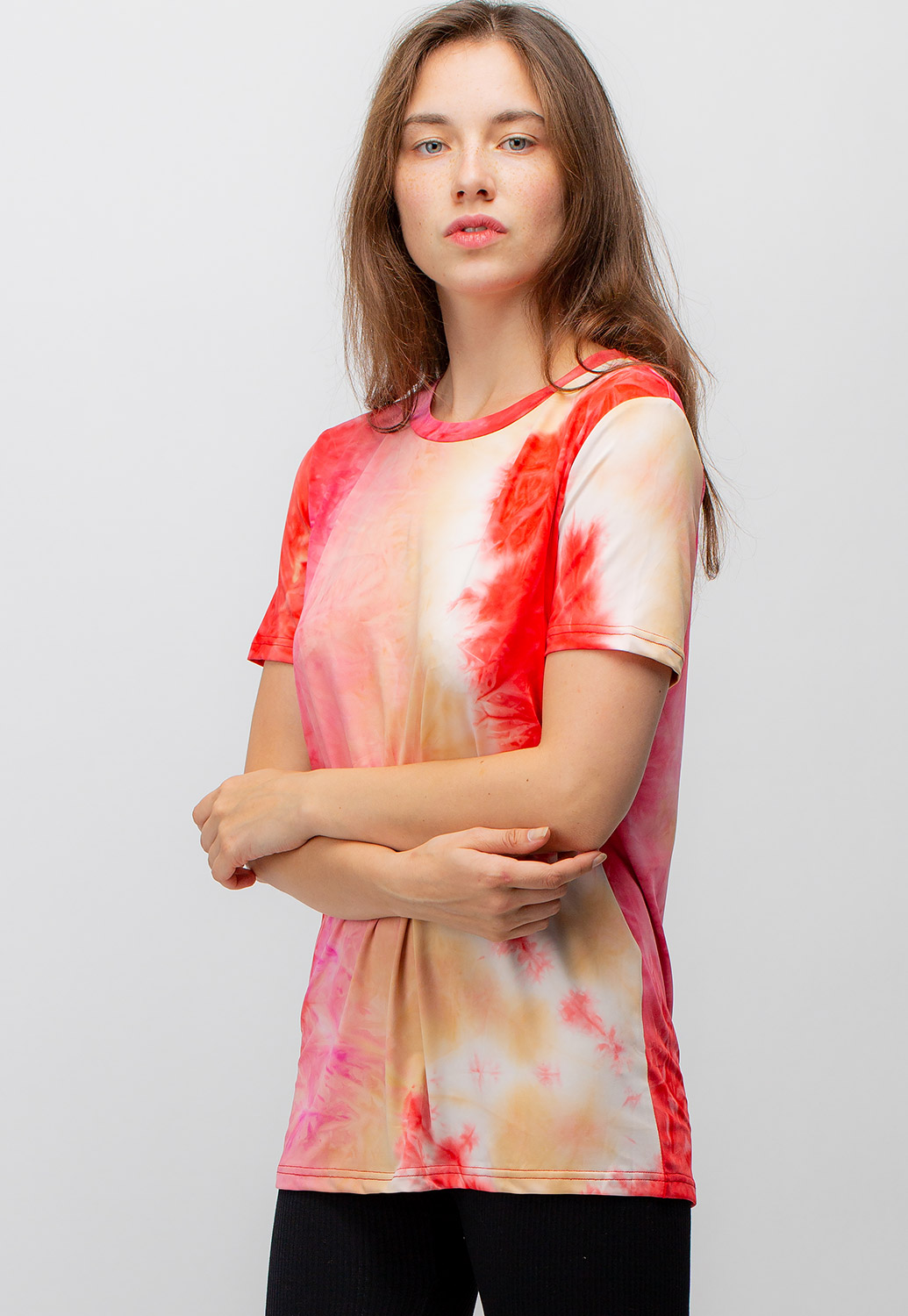 Tie-Dye Short Sleeve Active Set