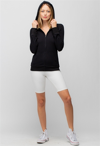 Basic Hoodie Zip-Up