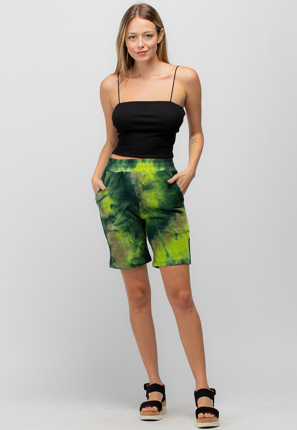 Tid Dye Active Short Pants