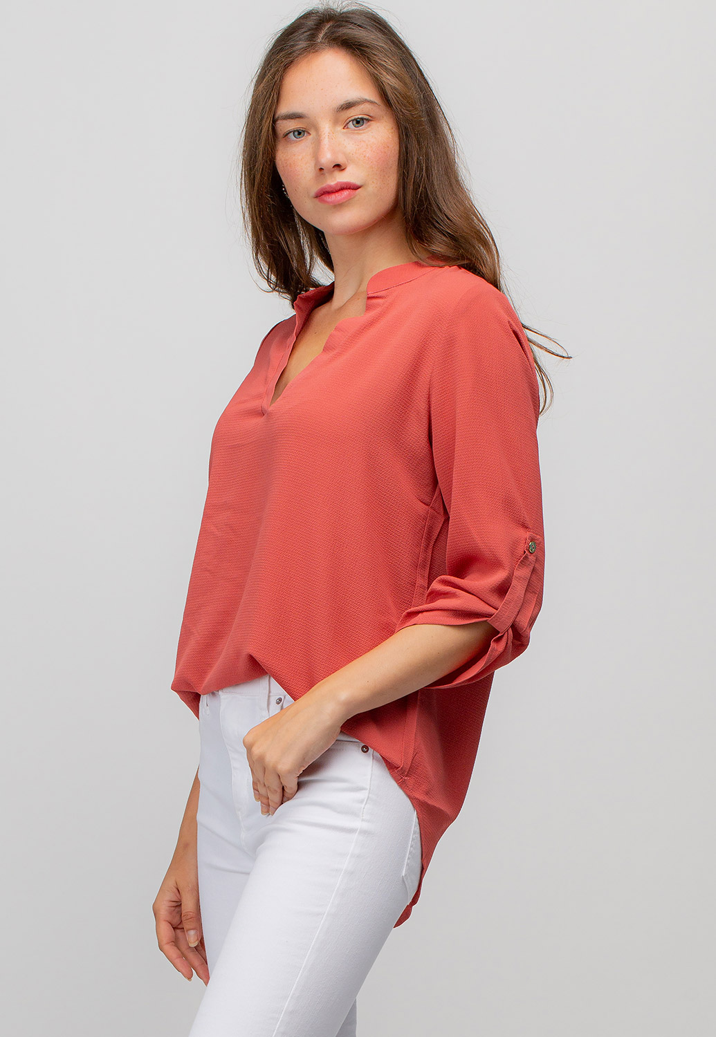 Long Sleeve Button-Down Shirt
