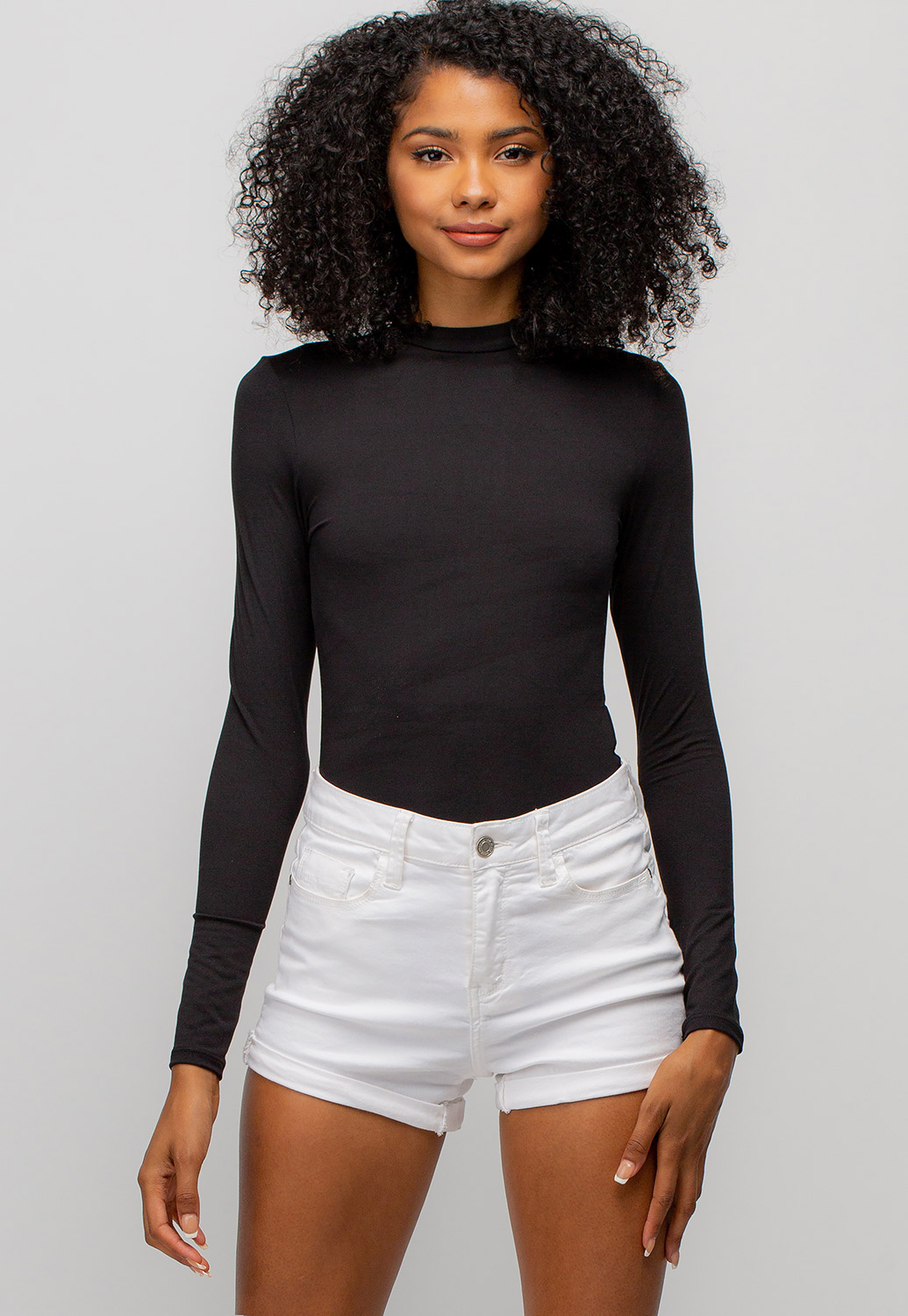 Mid Neck Bodysuit