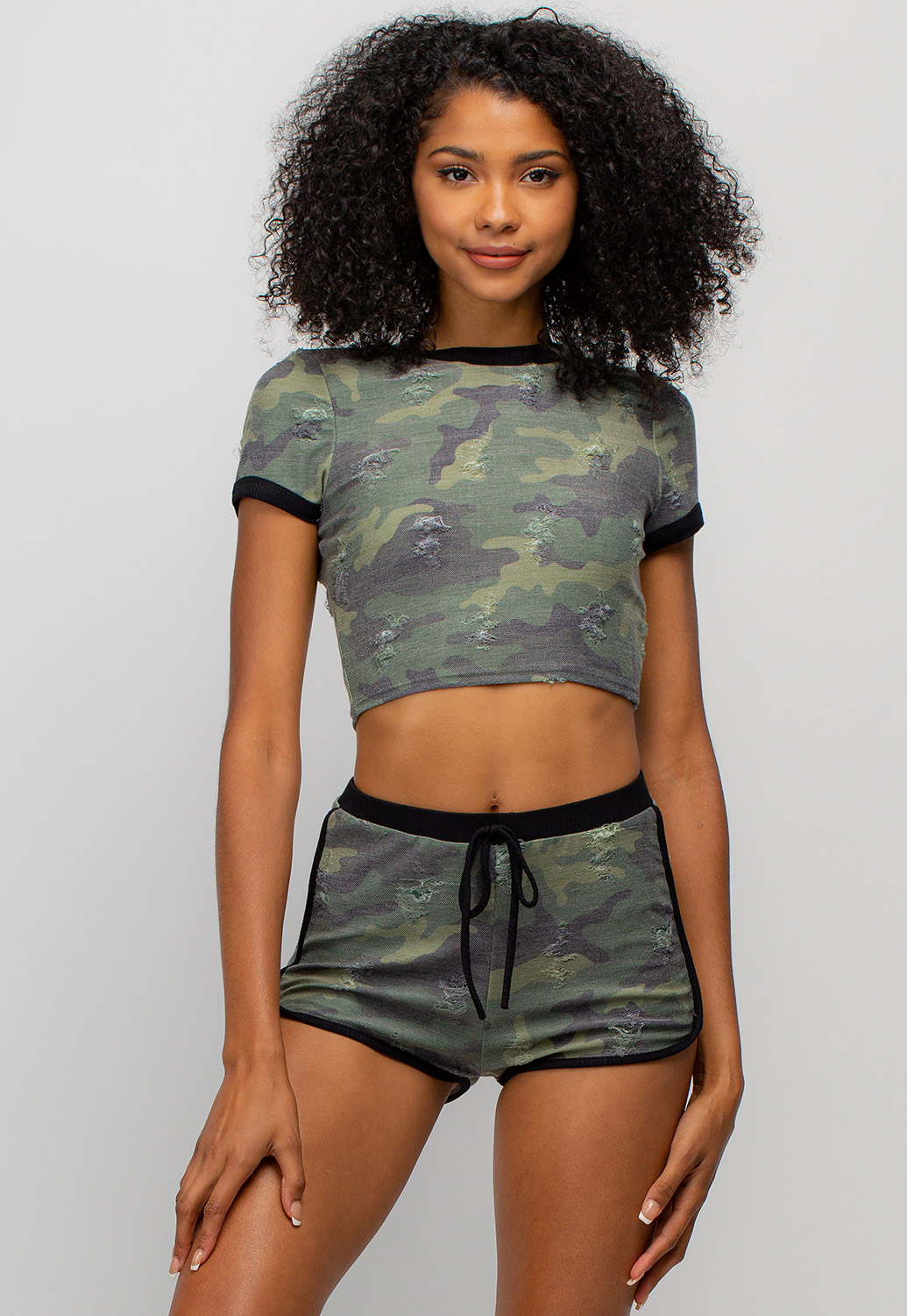 Camo Activewear Set