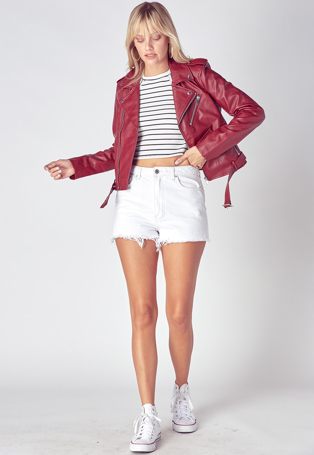 Fall Must Have Faux Leather Jacket
