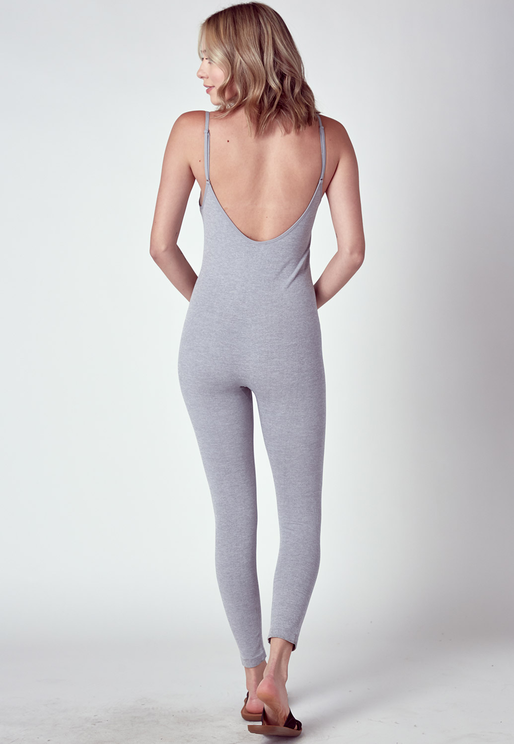 Daily Wearable Activewear Strappy Jumpsuit