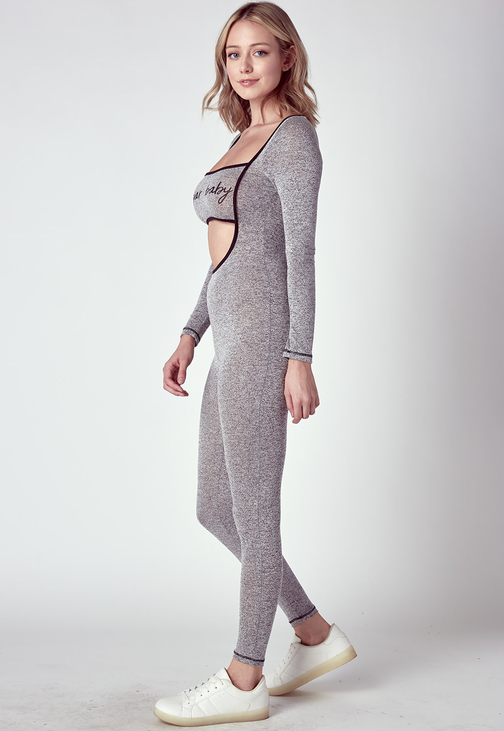 Cut Out Sporty Jumpsuit