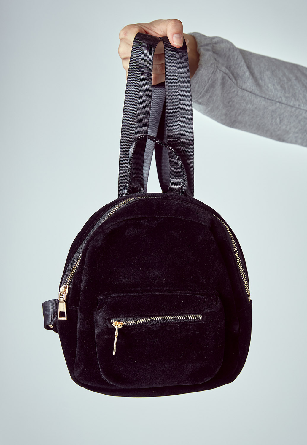 Mini Velvet Daily Backpack