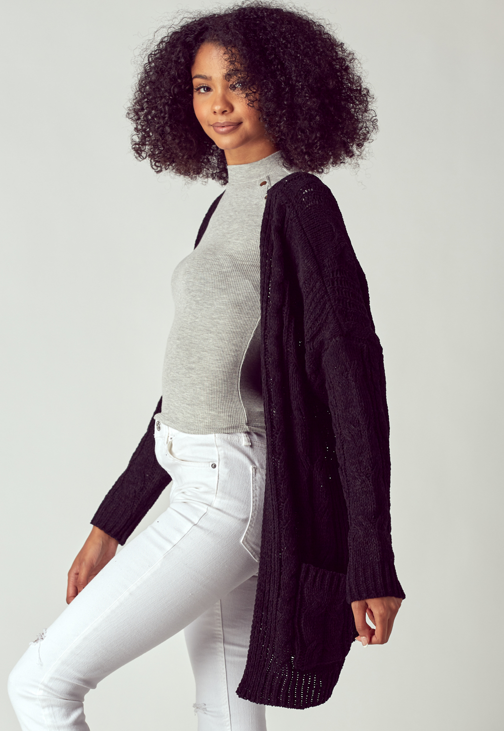 Cozy Sweater Long Cardigan