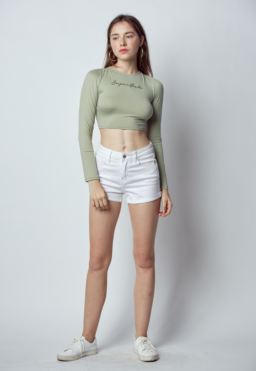 Tie Back Crop Top