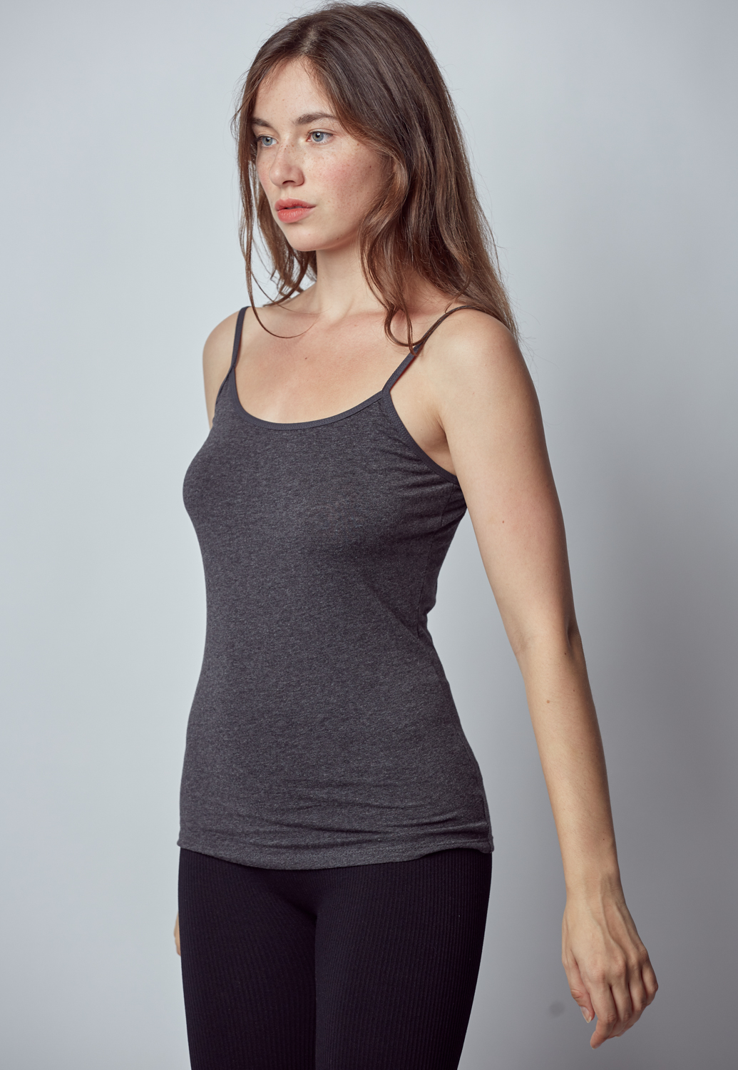 Basic Stretch Camisole Tank Top