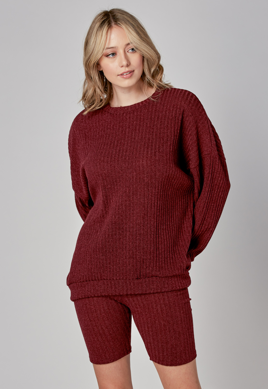 Cozy Knit Top & Pants Set
