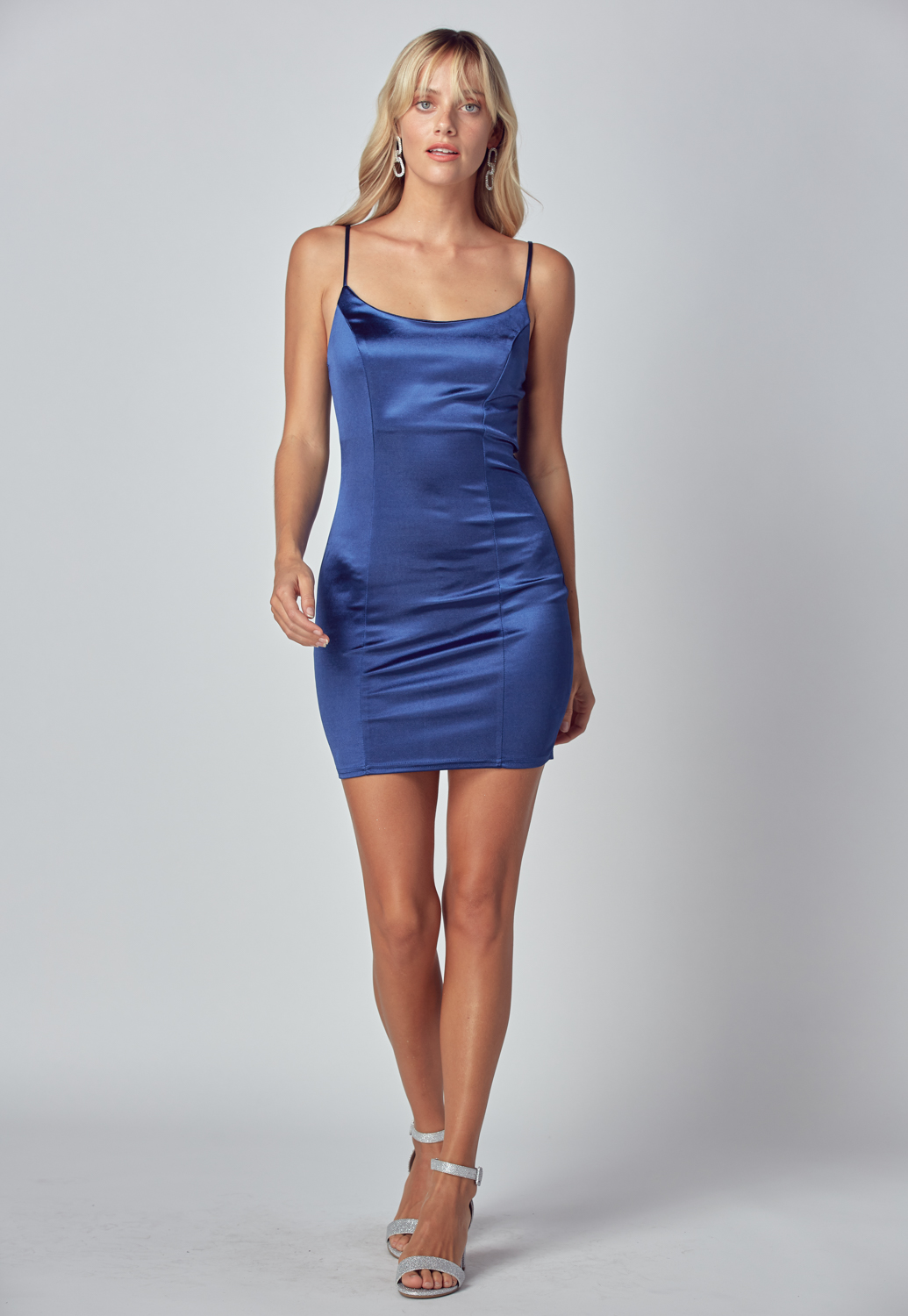 Satin Cami Mini Dress