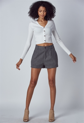Woolen Thick  Short Pants