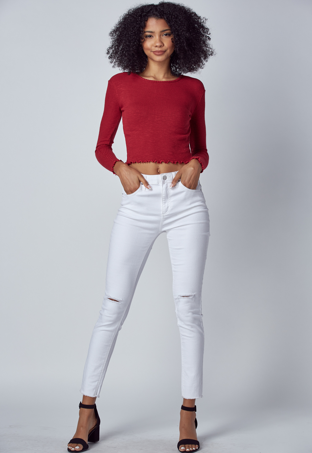 Fall Must Have Round Neck Knit Top