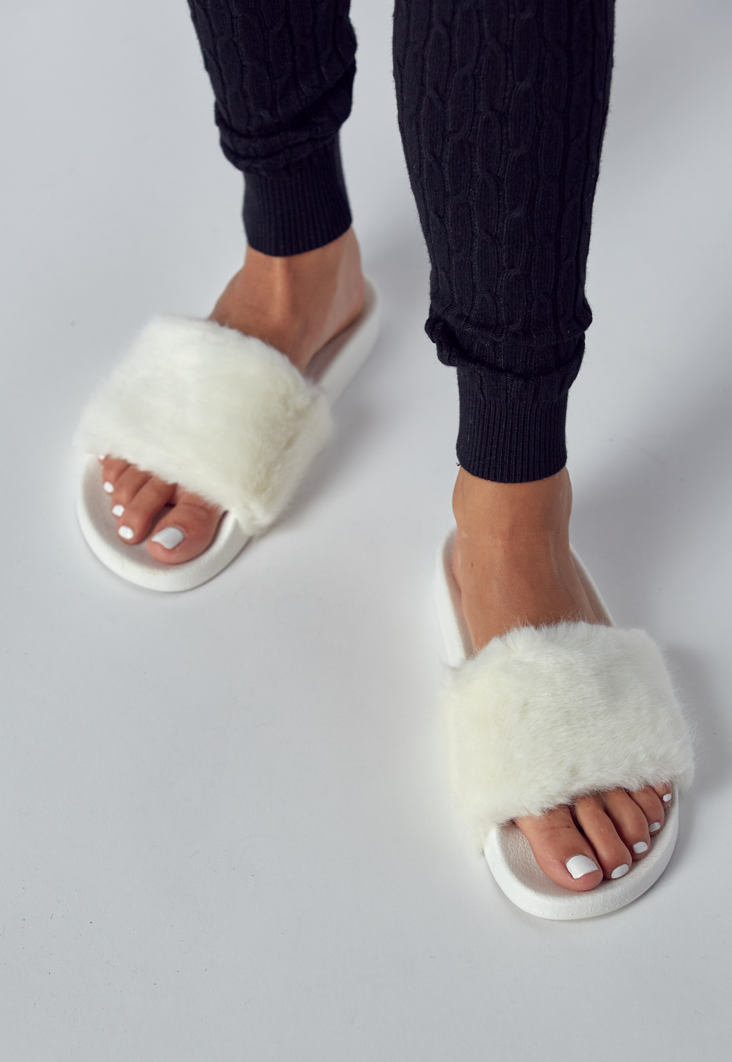 Cozy Furry Slippers
