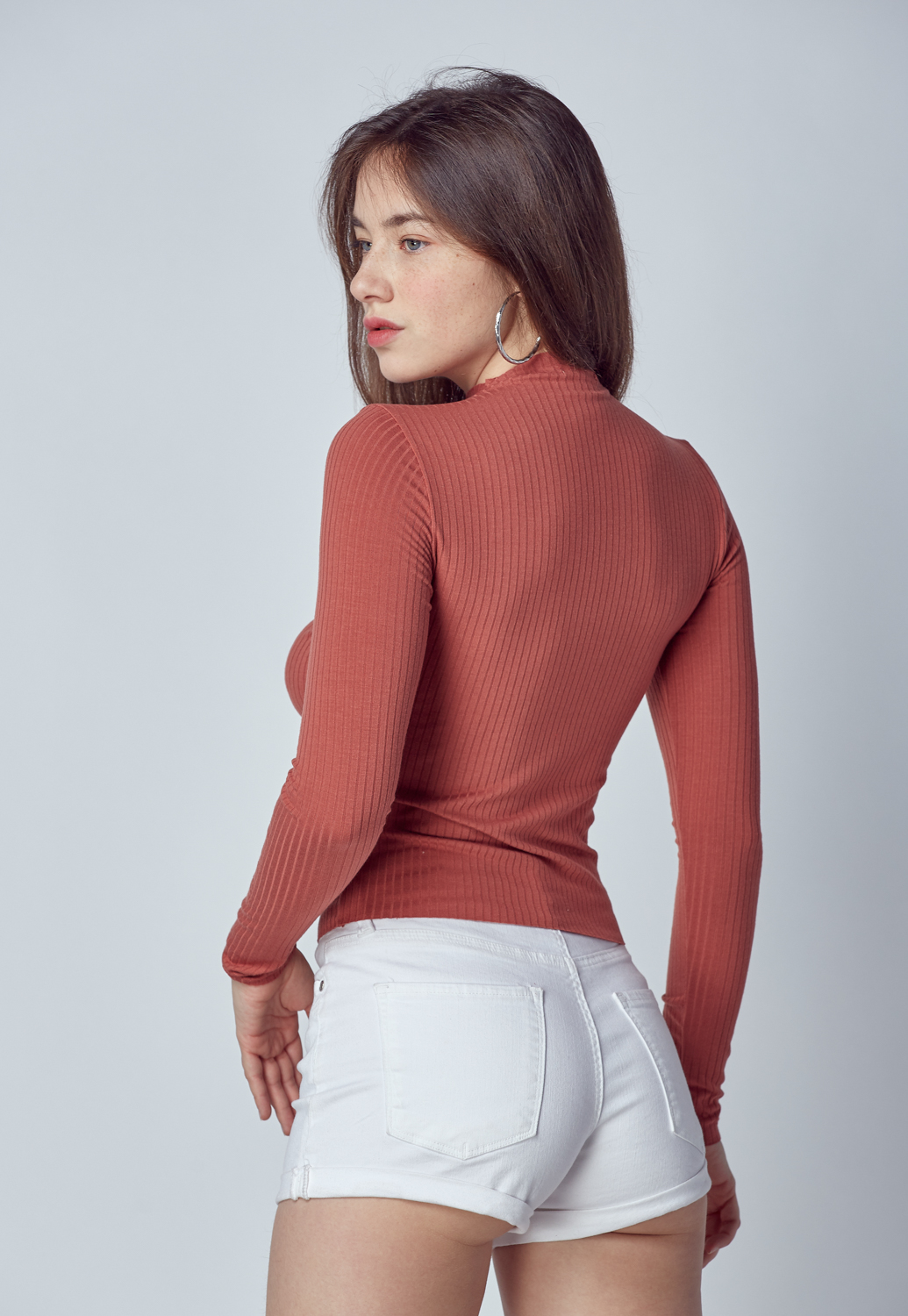 Slim Fit Knit Top