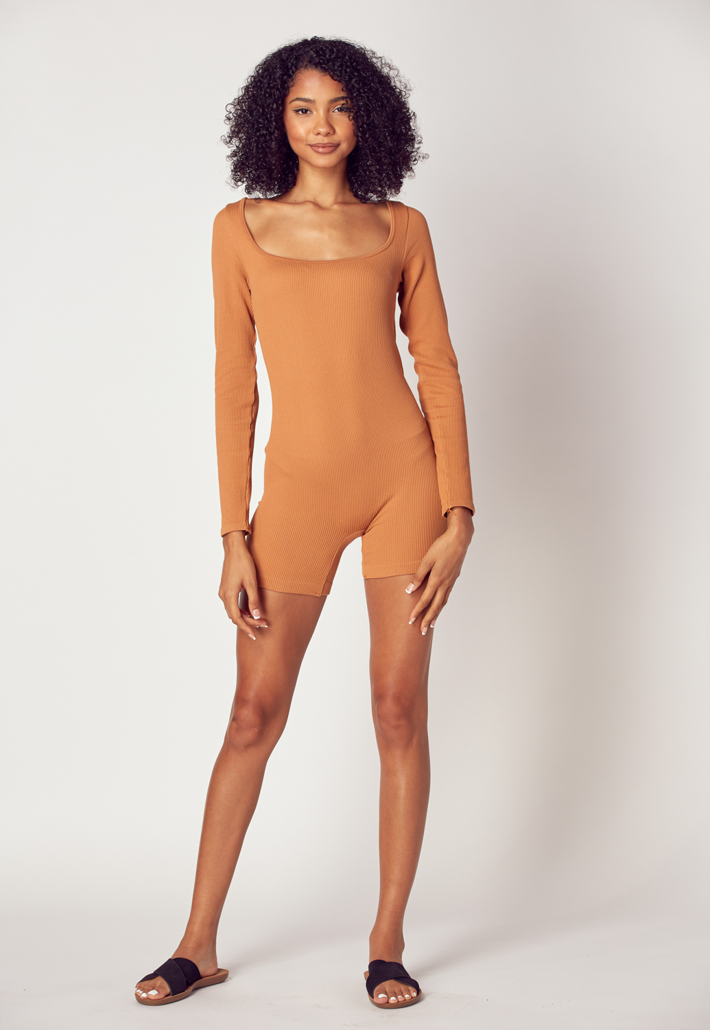 Long Sleeve Basic Romper