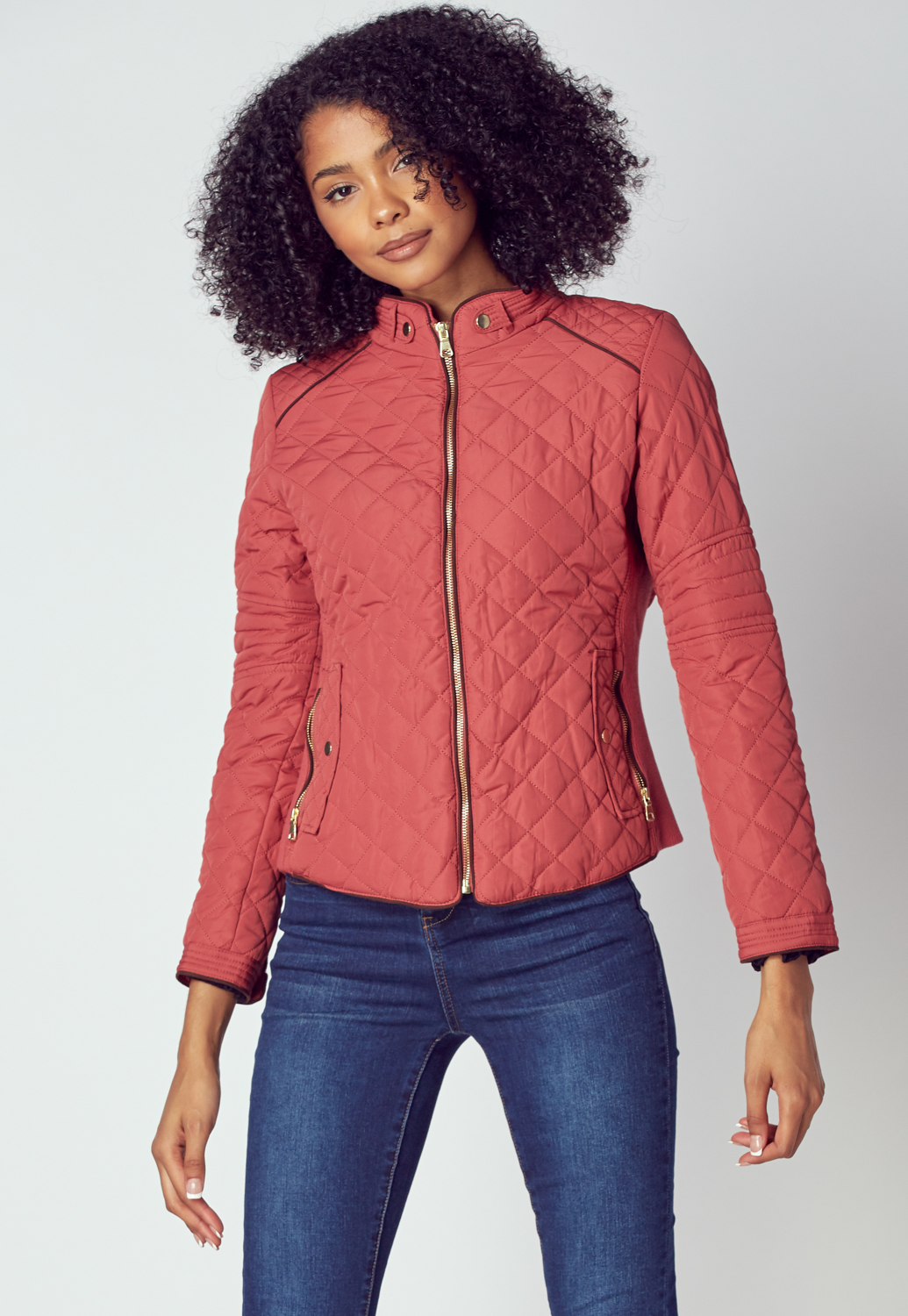 Quilted Jacket Coat