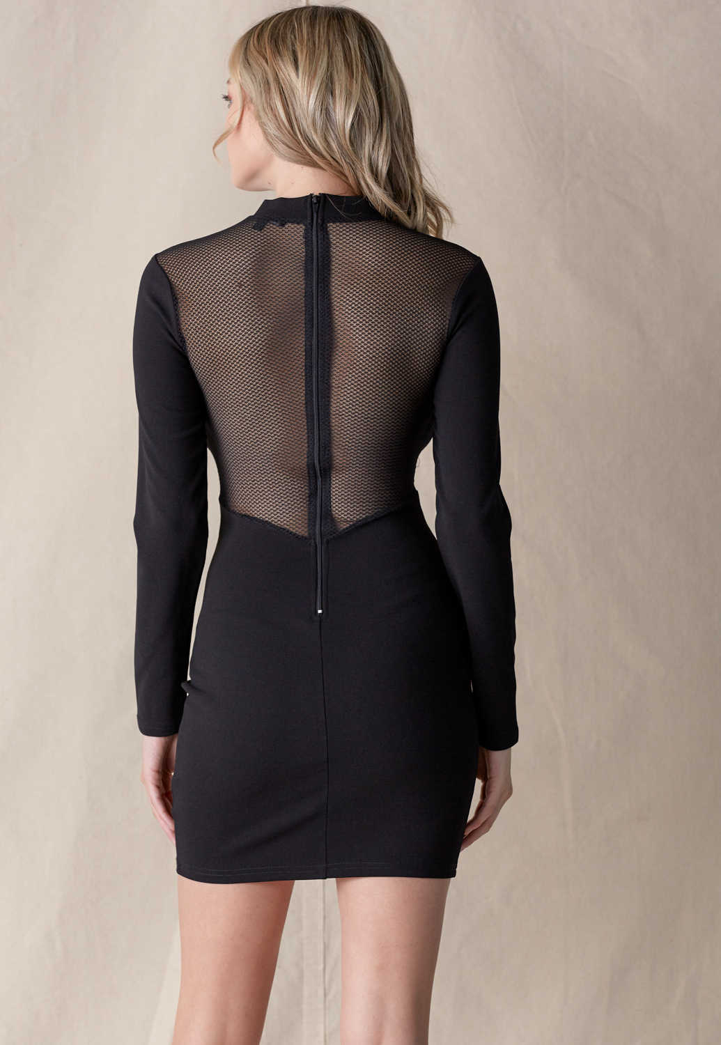 Front Cut Out Bodycon Dress