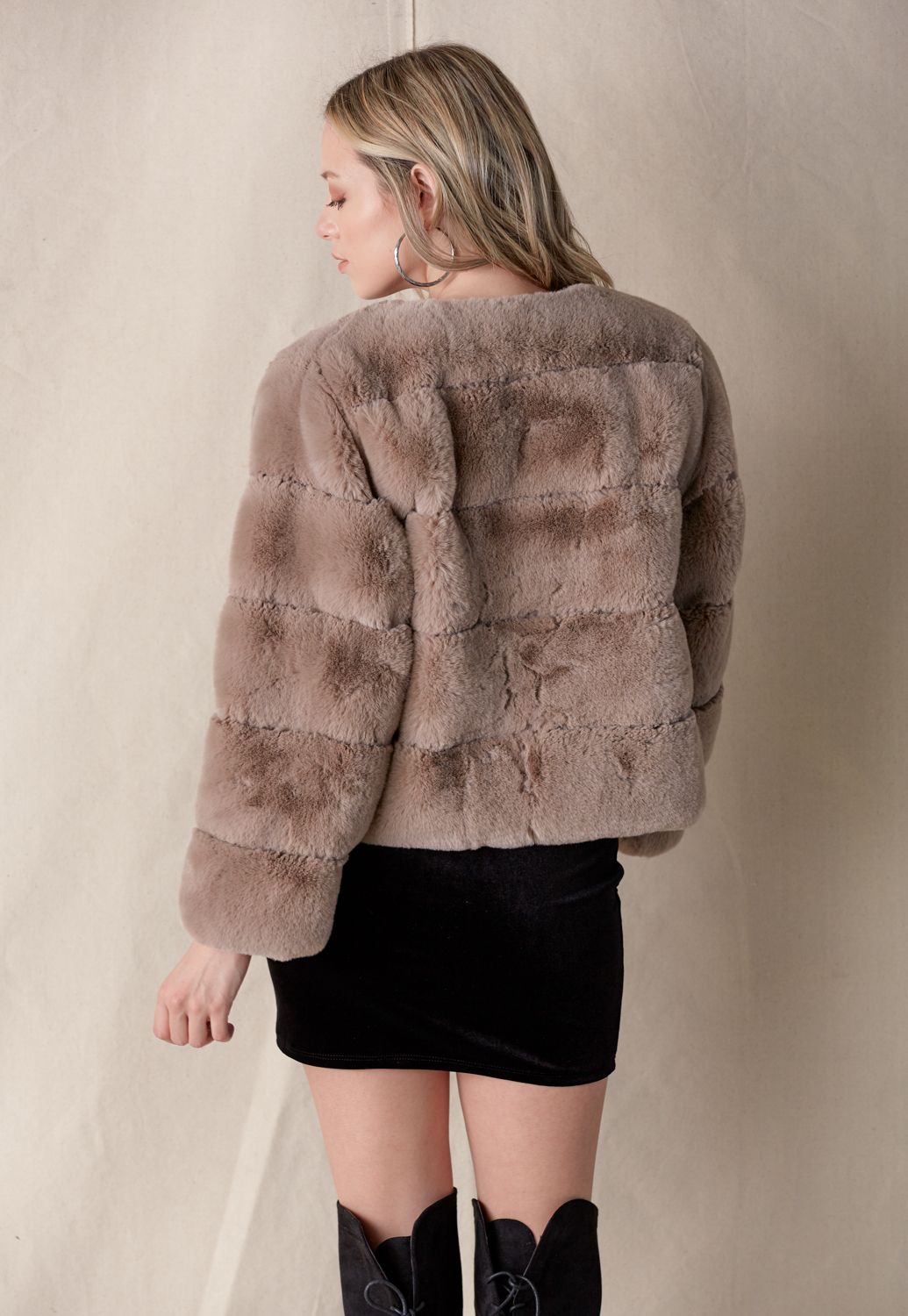 Soft Fur Jacket