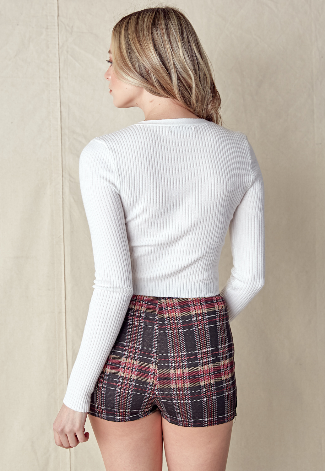 Plaid Skirt Pants