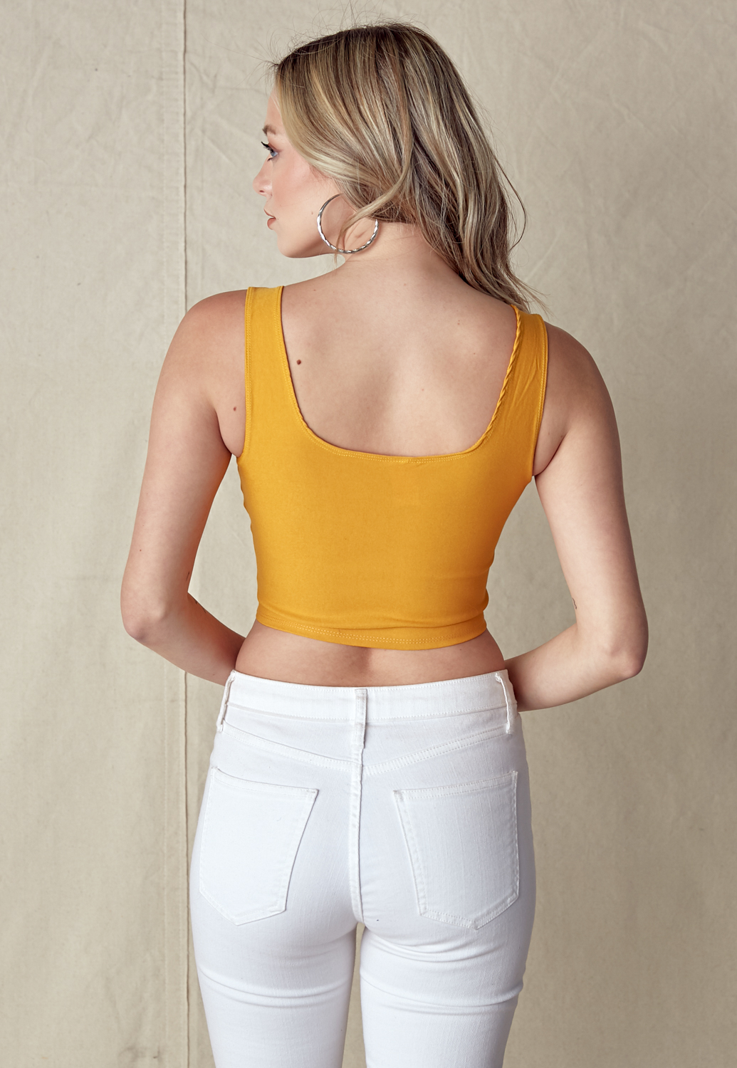Front Hook Cami Crop Top