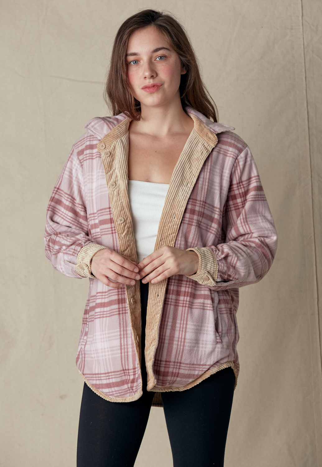 Reversible Shirt Jacket