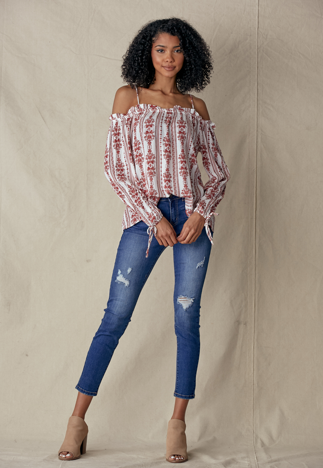 Off Shoulder Cami Top