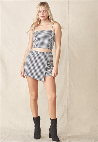 Cami Crop Top & Skort Set