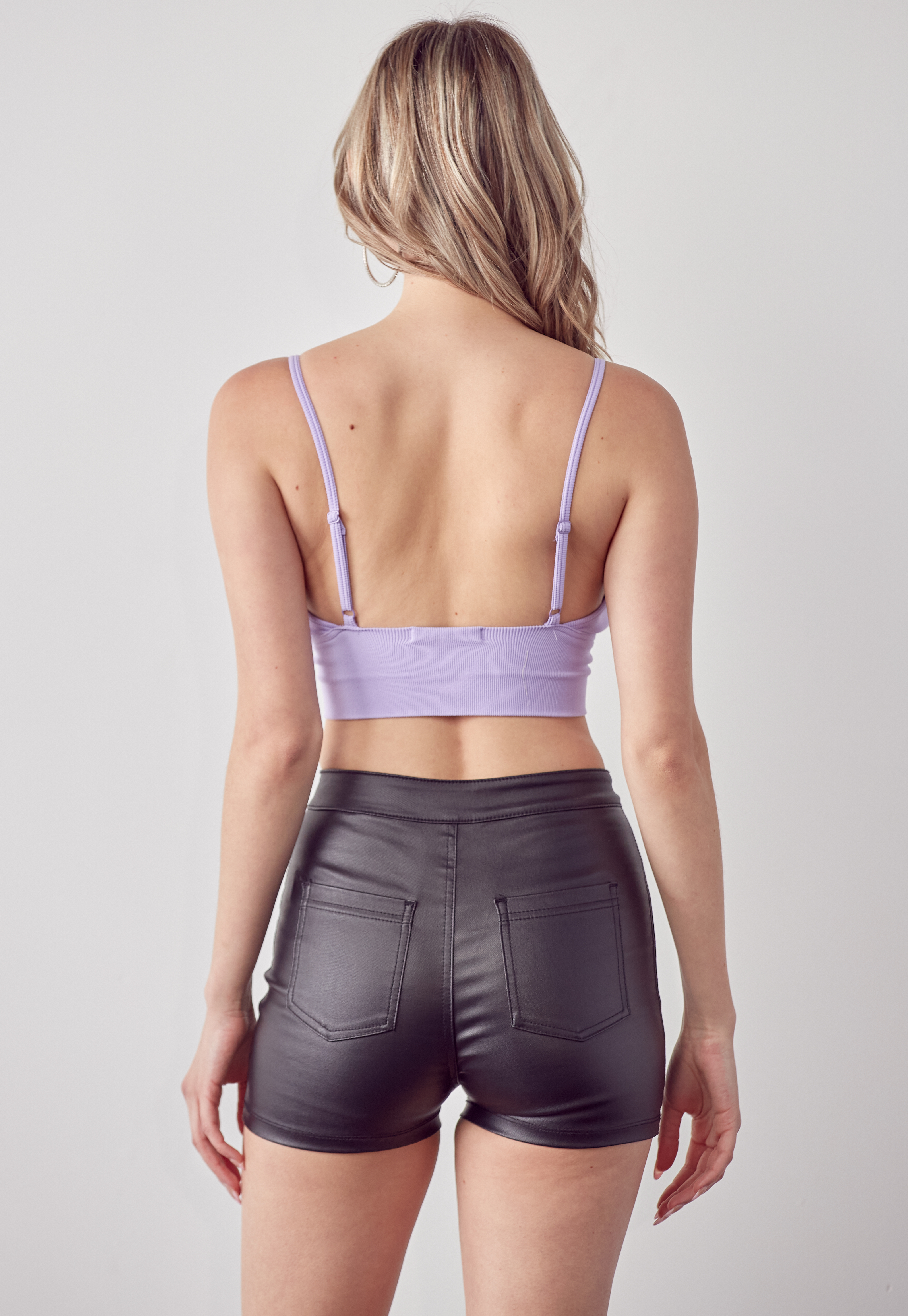 Cami Stretch Crop Top