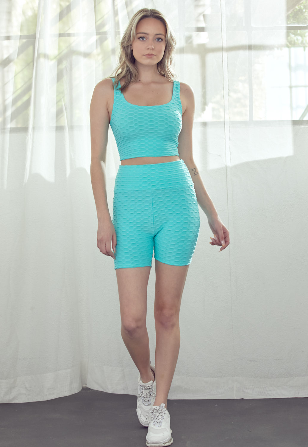 Tank Crop Top & Short Set